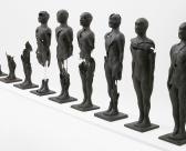 'Flux' Set of 9 figures (Porcelain Paperclay)
